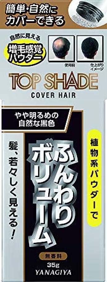 土横たわる保存するトップシェード カバーヘアー <やや明るめの自然な黒色> 35g