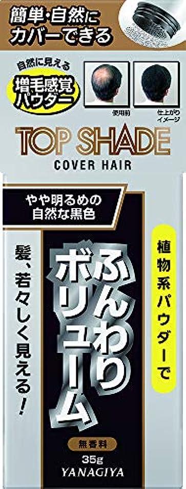 引用パイ一目トップシェード カバーヘアー <やや明るめの自然な黒色> 35g