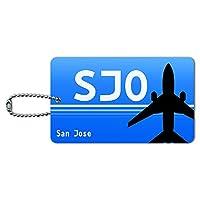 サンホセコスタリカ - フアン・サンタマリア(SJO)空港コード IDカード荷物タグ