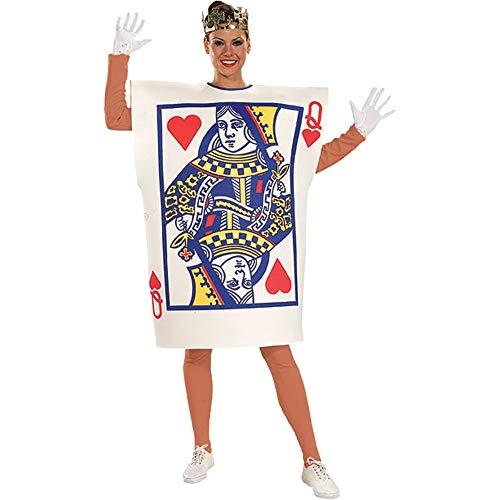 トランプ 衣装、コスチューム 大人女性用 クイーン ハロウィン QUEEN OF HEARTS