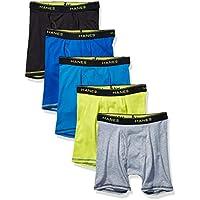 Hanes Boys B74CC5 Boxer Brief Boxer Briefs - Multicolor