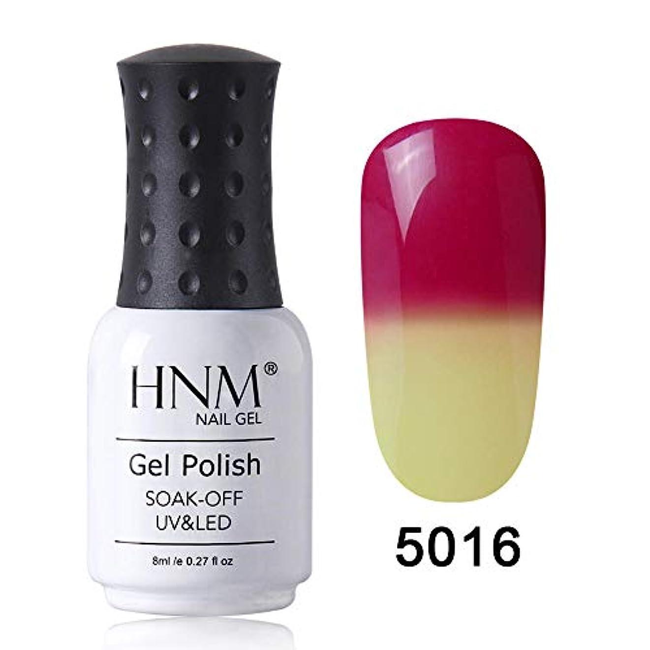 仮定解任グレードHNM ジェルネイル カラージェル カメレオンカラージェル 温度により色が変化 1色入り 8ml 【全39色選択可】