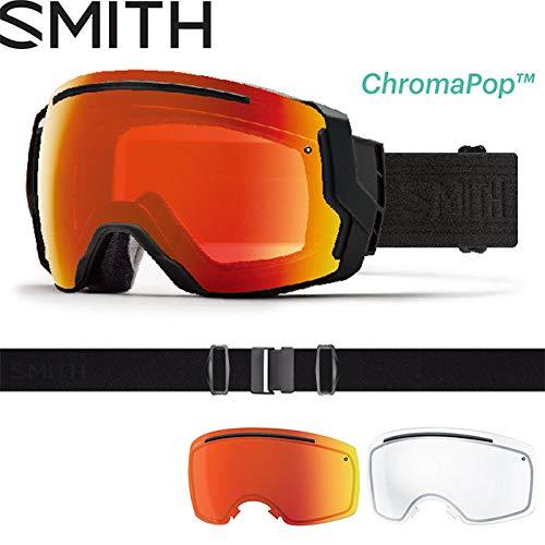18-19 SMITH (スミス) ゴーグル I/O7 BLACKOUT (EVERYDAY RED) アイ/オーセブン アジアンフィット ジャパンフィット スノーボード スキー