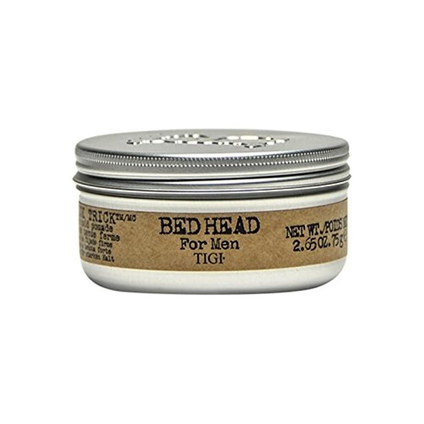 気味の悪い化学薬品登録する男性の滑らかなトリックポマード(75グラム)のためのティジーベッドヘッド x2 - Tigi Bed Head For Men Slick Trick Pomade (75G) (Pack of 2) [並行輸入品]