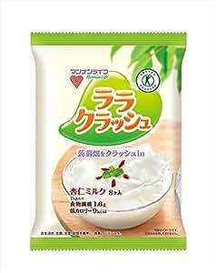 マンナンライフ 蒟蒻畑ララクラッシュ杏仁ミルク 24g×8×12袋