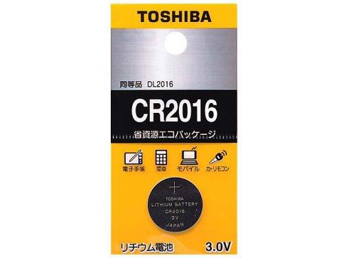 TOSHIBA CR2016EC コイン形リチウム電池