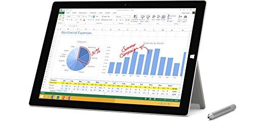 マイクロソフト Surface Pro 3 サーフェースプロ Windows10 Pro 12.3型 液晶 タブレット PC ( Core i7 / 512GB / 8GB RAM ) 単体モデル PU2-00017