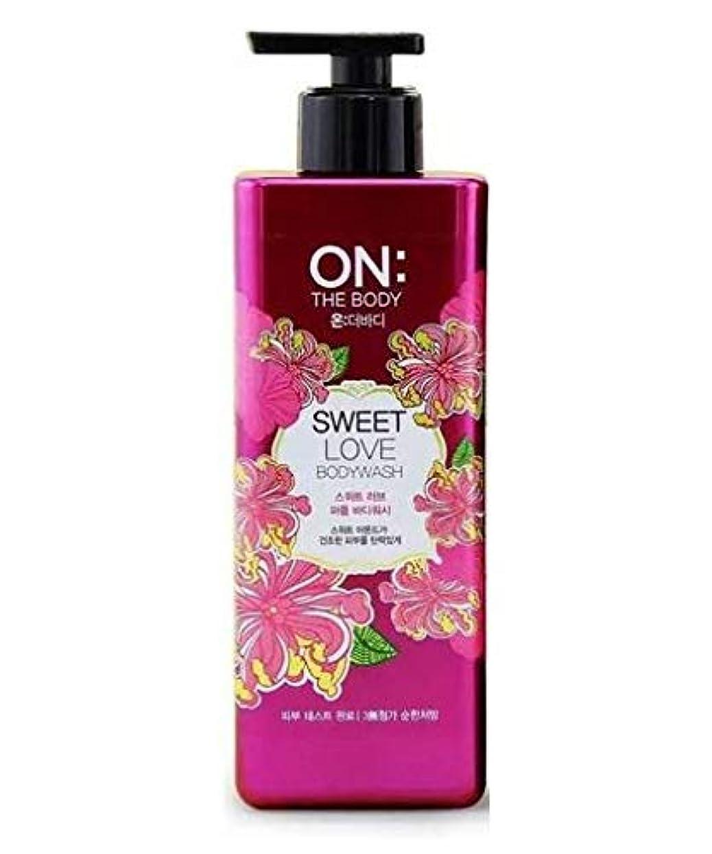 ゴミ箱を空にする金属衣類ON THE BODY Sweet Love Body Wash 500g/17.6oz