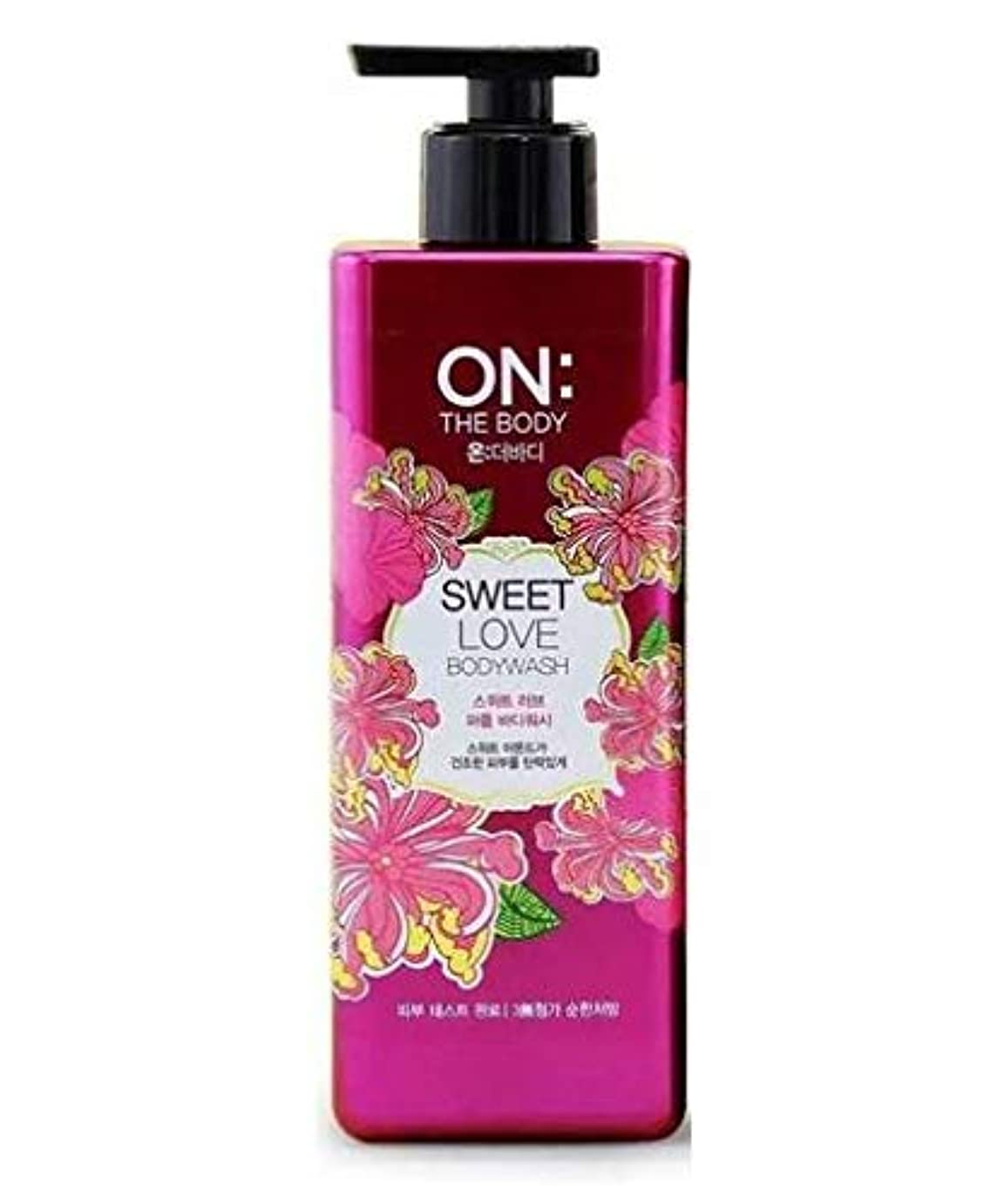 上に築きますパウダー変位ON THE BODY Sweet Love Body Wash 500g/17.6oz