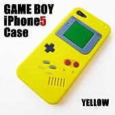 iPhone / アイフォン 5 用 ゲームボーイ 風 モデル 黄色