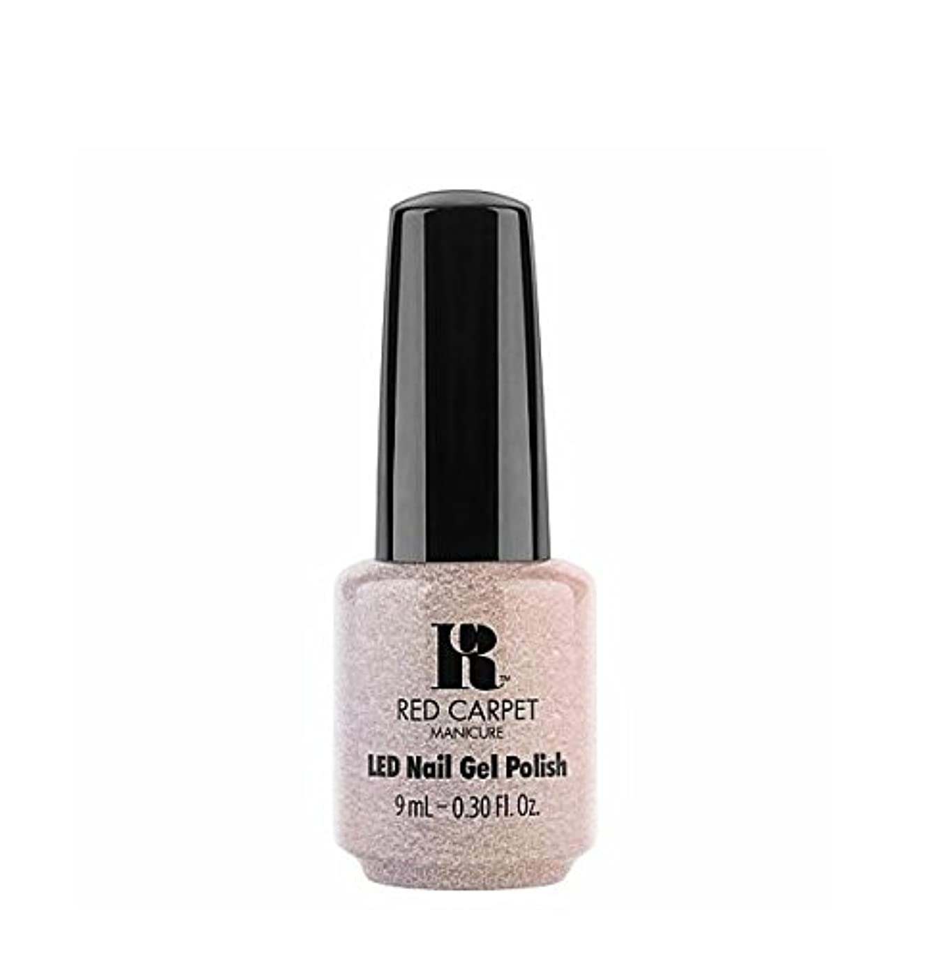 平方ハイキングに行く童謡Red Carpet Manicure LED Gel Polish - Monochromatic Maven - 9 ml/0.30 oz