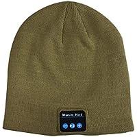 Bluetooth音楽ヘッドセット、帽子、秋と冬、Bluetooth、ニット暖かい帽子、Bluetooth帽子