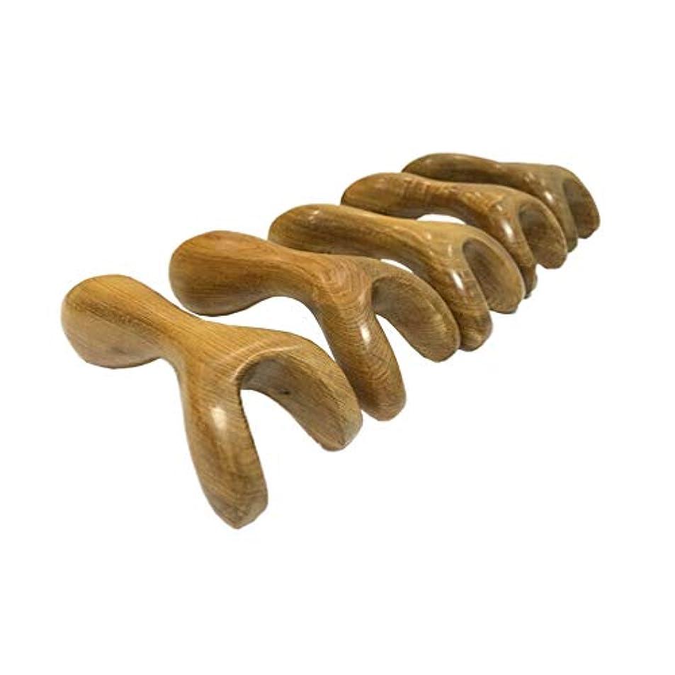 保育園足首人物SUPVOX マッサージツール伝統的なタイ式マッサージ木製スティック手動マッサージセラピーツール