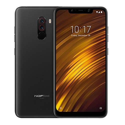 Xiaomi pocophone f1 (POCO F1) 6GB+64GB Black/ブラック Snapdragon 845 液体冷却 MIUI 4000mAh容量 SIMフリー スマートフォン (グローバル版/日本語対応・Googleアプリ対応) 並行輸入品