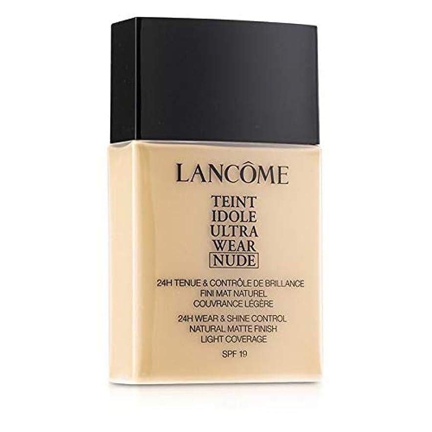 欲しいです贅沢な領収書ランコム Teint Idole Ultra Wear Nude Foundation SPF19 - # 01 Beige Albatre 40ml/1.3oz並行輸入品