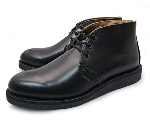 [ レッドウィング ] REDWING [ ポストマン シューズ ] POSTMAN SHOE [ブラック 黒 ] CHUKKA [ チャッカ ] BLACK 9196 [サイズ:27.0㎝] US9 [ レザー 本革 ] LEATHER ブーツ ワーク シューズ