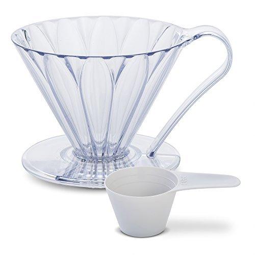 CAFEC フラワードリッパー 樹脂 cup4 クリア PFD-4