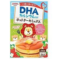 昭和産業 (SHOWA) DHA入りホットケーキミックス 200g×8個入×(2ケース)