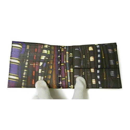 (ポールスミス) 財布 メンズ 二つ折 (ブラック/ストライプスカーフ) PA-1232 [並行輸入品]