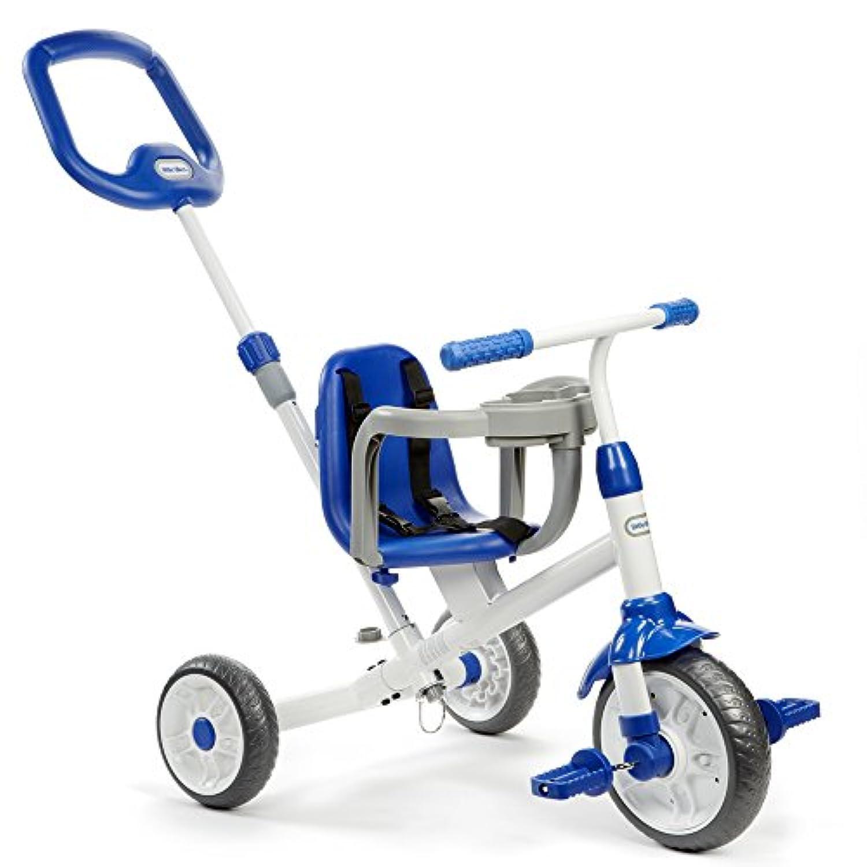 Little Tikes Ride 'N Learn 3-in-1 Trike, Blue 141[並行輸入]