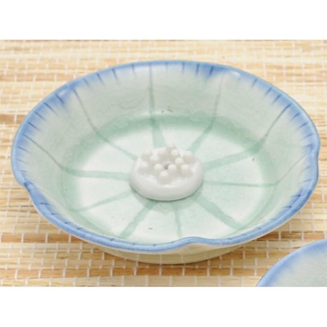 香皿 御深井 (香玉付) 花型香皿 [R9.2xH1.9cm] プレゼント ギフト 和食器 かわいい インテリア