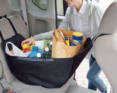 大容量 車載収納 ハンモック バッグ