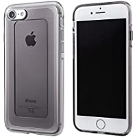 GEMS Hybrid Case for iPhone 8/7 GRAMAS COLORS GEMS(ジェムズ) iPhone 8/7用クリアケース (iPhone 8/7 Onyx Black) カバー MIL SPEC(ミルスペック) シンプルで美しい耐衝撃ケース