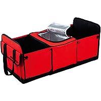 アルファックス 車用収納ボックスmini Cargo 赤 603115