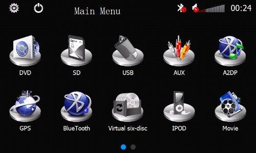 PIONE-フォルクスワーゲンキャディー/ EOS/ゴルフプラス/ゴルフV/ゴルフVI/ジェッタ/パサート/パサートCC/シロッコ/ティグアン/トゥーラン/ポロ/ W T5トランスポーター/ W T5カラベル/ W T5マルチバン(ではないハイライン版)-GPSナビゲーションシステム対応のブルートゥース TVのiPodのFM / AM USB SDを持つ7インチのデジタルタッチスクリーン、特殊なダッシュカーDVDプレーヤーのためのフリーフォーム