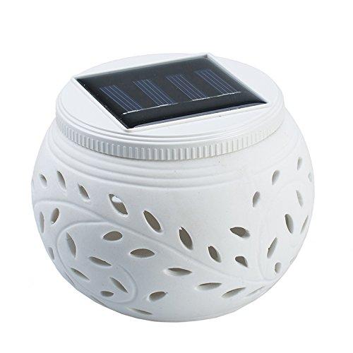 ガーデンライト、elecfanJ 屋外 夜間自動点灯 太陽光...