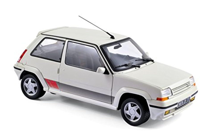 ☆ ノレブ 1/18 ルノー シュペール 5 (サンク) GT ターボ 1989 パンダホワイト