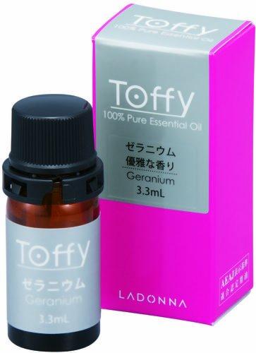 ラドンナ Toffy(トフィー) 100%ピュアエッセンシャルオイル ゼラニウム TF01-EO-GN