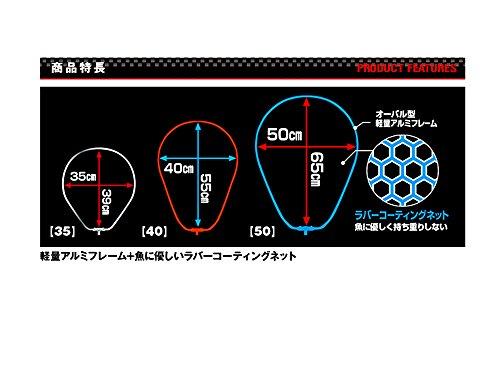 プロックス『アルミフレーム(ワンピース)ラバーコーティングネット付(PX83450)』