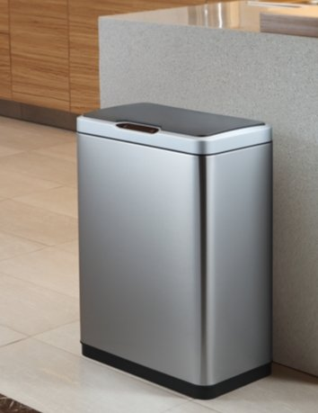 RoomClip商品情報 - センサーゴミ箱 47L SENSIBLE ECO LIVING Motion Senser Trash Can With  Liner 47L