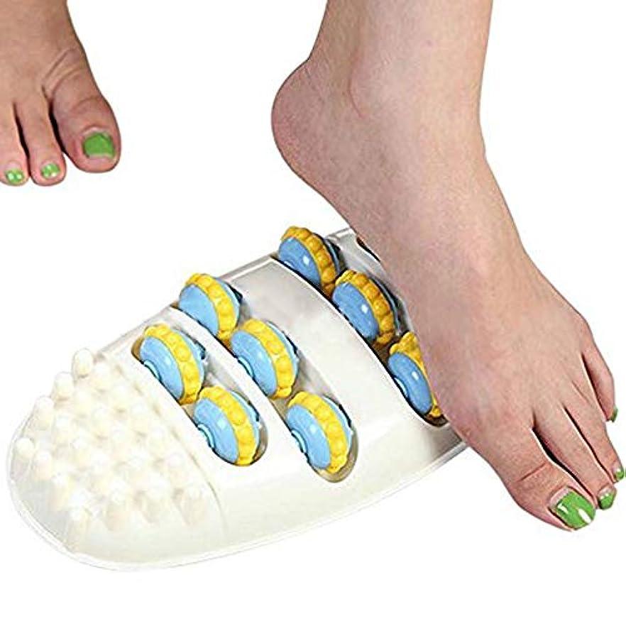 染色絶壁賭けZIME フットマッサージローラー、フットマッスルリラックスツール - 足の痛みと足底筋膜炎を和らげる