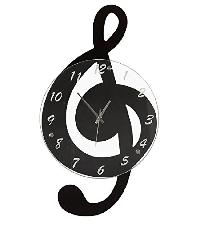 [アルコン] Archon 個性派デザイン時計シリーズ 音符 壁掛け [CS-AR-0007]