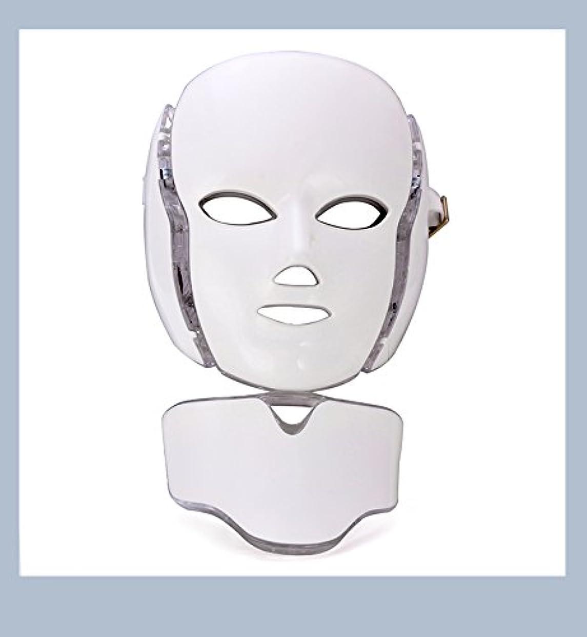 オリエンテーション観点ホースLEDマスク 光エステ LED美顏 マスク 家庭用LED美顔器 毛穴汚れ 肌のツヤ ハリ 光エステ 美白 エイジングケア 痩せ顔(日本語説明書付き)
