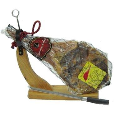 生ハムの原木 パレタセラーナ 約4kg 【専用固定式ホルダー、ナイフセット】
