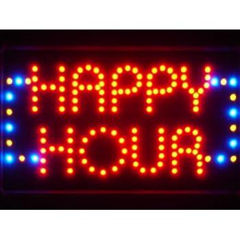 Amazon adv pro adv pro led036 r happy hour bar mozeypictures Choice Image