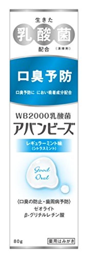 広げる詩スキャンダラスわかもと製薬 アバンビーズ レギュラーミント味 80g