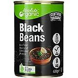 Absolute Organic Black Beans Tinned 400 g, 400 g