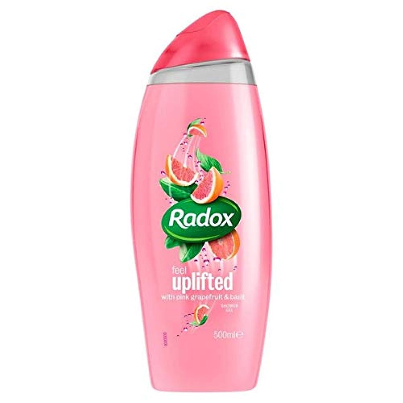 タービン労働キノコ[Radox] Radox感隆起シャワージェル500ミリリットル - Radox Feel Uplifted Shower Gel 500ml [並行輸入品]