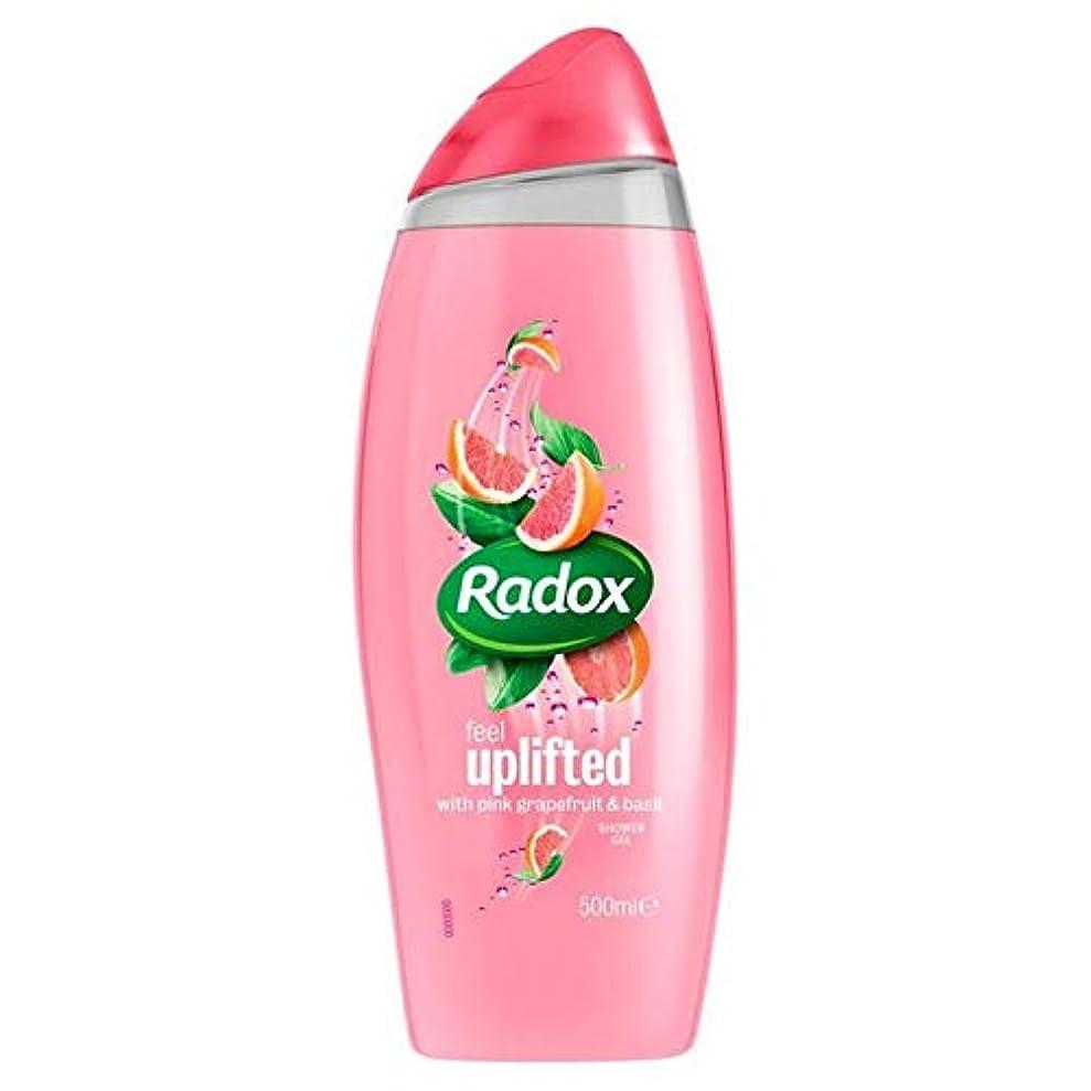メロン頂点プロフェッショナル[Radox] Radox感隆起シャワージェル500ミリリットル - Radox Feel Uplifted Shower Gel 500ml [並行輸入品]