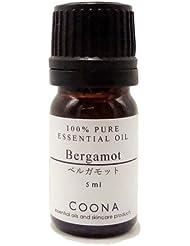 ベルガモット 5 ml (COONA エッセンシャルオイル アロマオイル 100%天然植物精油)