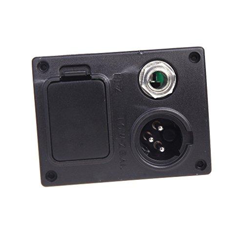 ammoon 4バンド EQ イコライザー LCD チューナー ピエゾ ピックアップ マイク付き プリアンプ アコースティックギター対応