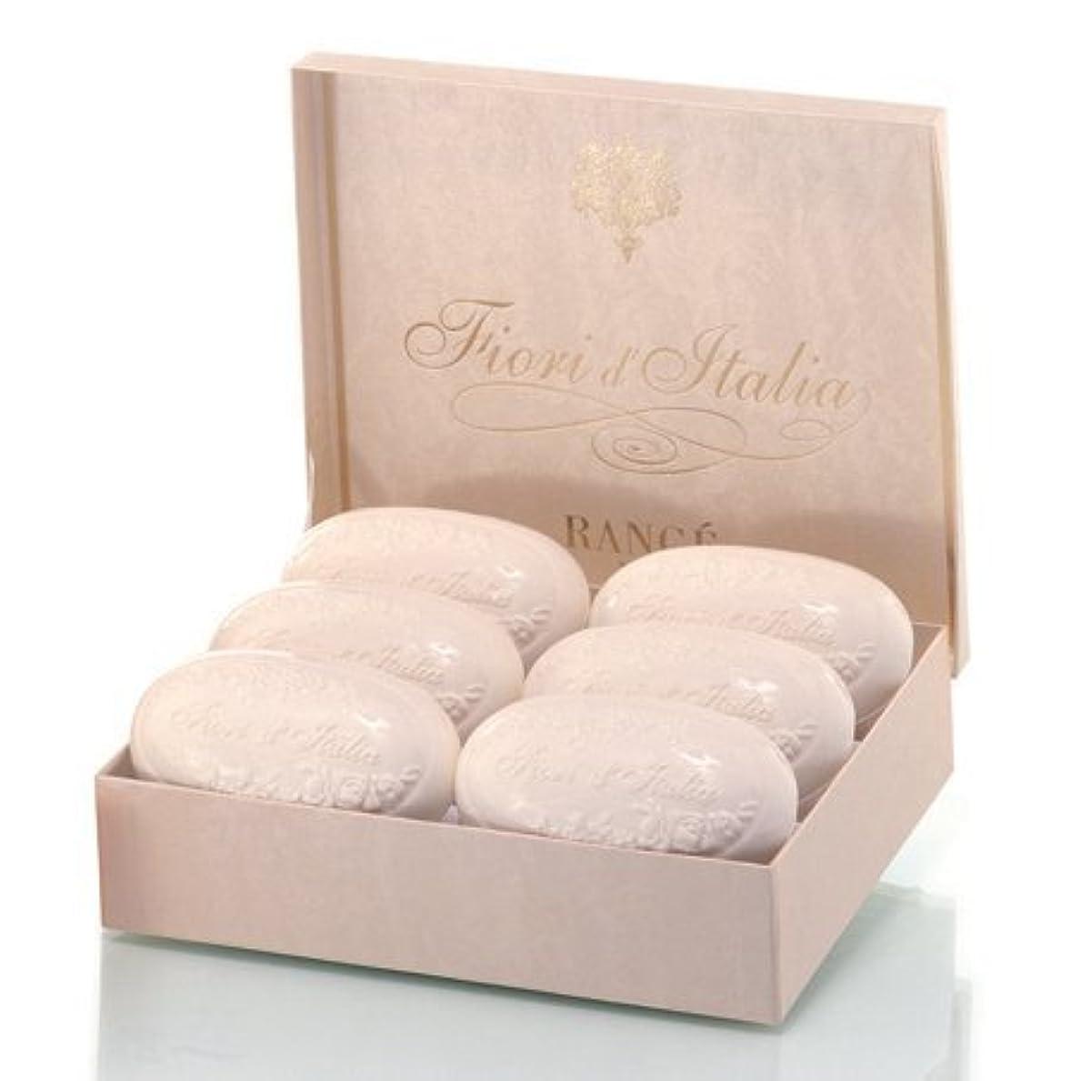 息を切らして振動させる複製するRancé Fiori d'Italia Soapbox(ランセ フィオーリ ディタリア ソープボックス)6 x 175 g [並行輸入品]