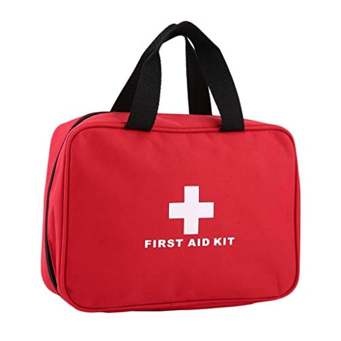 XKJPShop 救急箱 応急処置キット大きな車応急処置キット大型屋外緊急キットバッグ旅行キャンプサバイバル医療キット 応急処置ケース、家庭、職場、学校