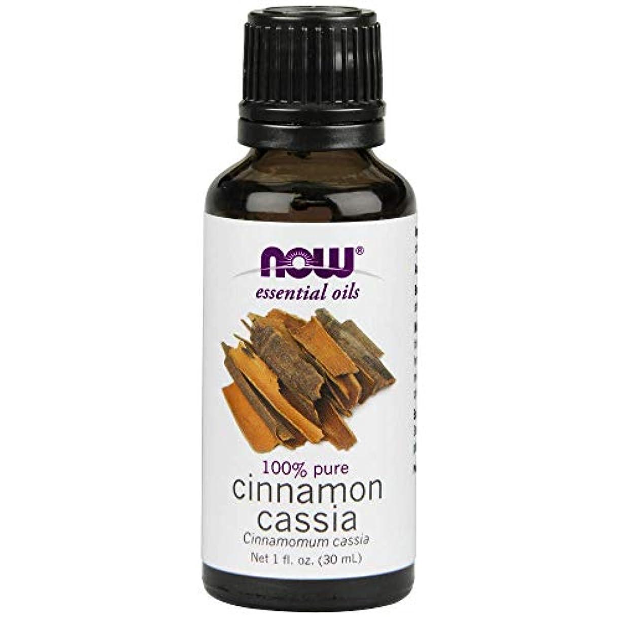 息切れ疼痛コスチュームNow - Cinnamon Cassia Oil 100% Pure 1 oz (30 ml) [並行輸入品]