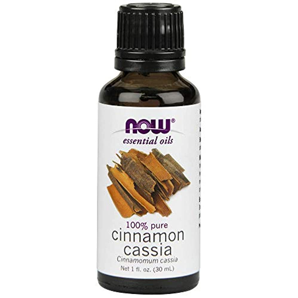 エンドウ遠いアイロニーNow - Cinnamon Cassia Oil 100% Pure 1 oz (30 ml) [並行輸入品]