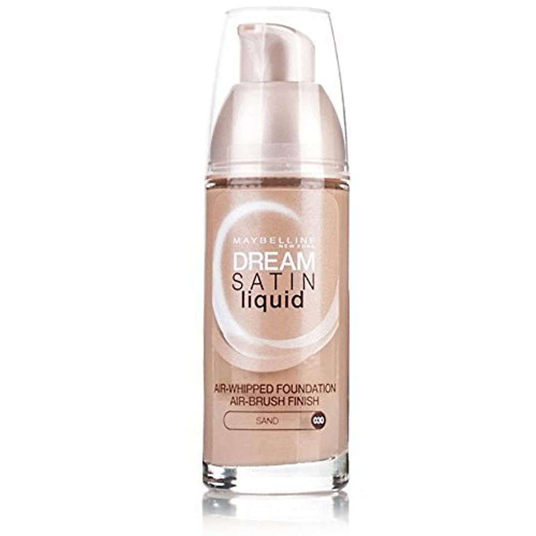 脅迫高尚な精査Maybelline Dream Satin Liquid Foundation 021 Nude by Maybelline